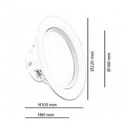 Downlight LED 24W 107º - Imagen 2