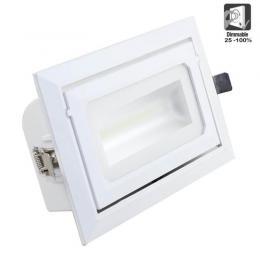 Foco proyector LED 36W orientable rectangular 120º - Imagen 2