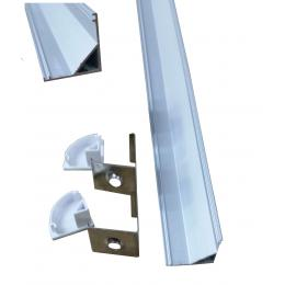 Perfil Alumino L Angular 2m - Imagen 2