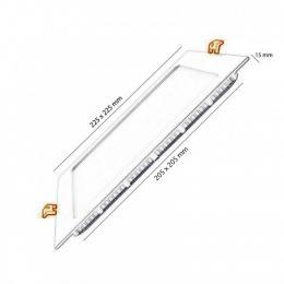Placa LED Slim Cuadrada 18W - Imagen 2