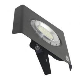 Placa Slim Aluminio LED 70W 120º IP67 negro - Imagen 2