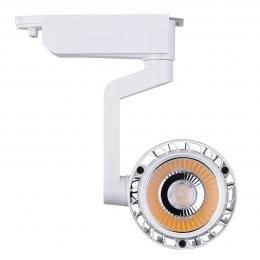 Foco LED 30W NORA Blanco para Carril Monofásico 35º - Imagen 2