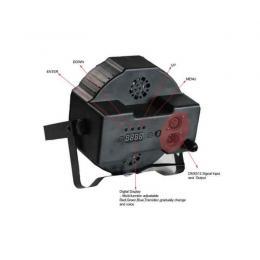 Foco PAR 18 LEDs DMX MONTANA 20 sincronizado - Imagen 2