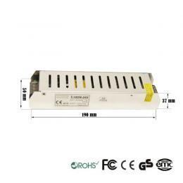 Fuente Alimentación 24V 100W 1.2A - Aluminio IP20 - Imagen 2