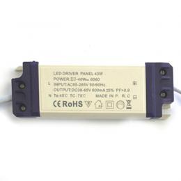 Driver para luminarias LED de 40W de 600mA 40W - Imagen 2