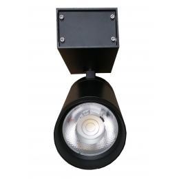 Foco LED 30W LEIA Negro para carril Monofasico 24º - Imagen 2