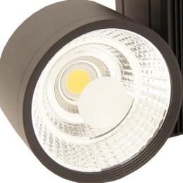 Foco LED 30W OLIVIA Negro para Carril Monofásico - Imagen 2