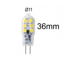 Bombilla LED G4  2,5W blanco neutro 4000K 12V DC - Imagen 2