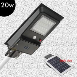 Farola LED 20W SOLAR ECO EPISTAR  con Sensor de Movimiento - Imagen 2