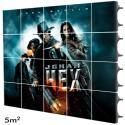 Rótulo LED electrónico Interior Serie RENTAL Pixel 3.91 RGB Full Color 5m2 (20 Modulos Apilable + Control) - Imagen 14