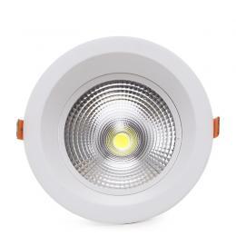 Foco Downlight Circular LED Anti-Deslumbrante COB 18W 1800Lm 30.000H - Imagen 2