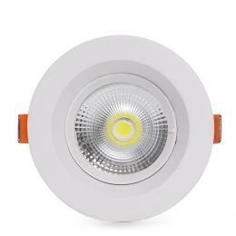 Foco Downlight  Circular LED Anti-Deslumbrante COB 7W 700Lm 30.000H - Imagen 2