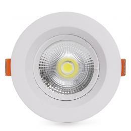 Foco Downlight Circular LED Anti-Deslumbrante COB 9W 900Lm 30.000H - Imagen 2