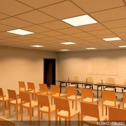 Panel LED Ecoline 595X595X12Mm 36W 2380Lm 30.000H - Imagen 2
