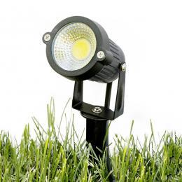 Foco LED COB con Pincho para Jardínes 5W 450Lm 30.000H - Imagen 2