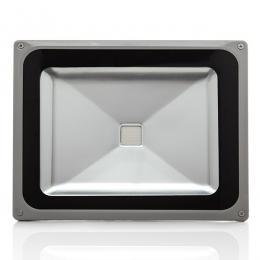 Foco Proyector LED IP65 Brico 50W 4250Lm 30.000H Rojo - Imagen 2