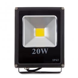 Foco Proyector LED IP65 20W 1400Lm 30.000H Ecoline - Imagen 2