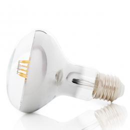 Bombilla Filamento R80 LED E27 6W 500Lm 40.000H - Imagen 2