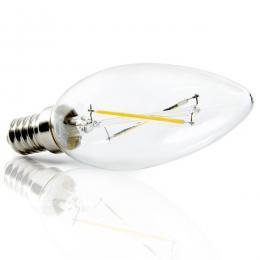 Bombilla Filamento LED E14 2W 200Lm 30.000H - Imagen 2