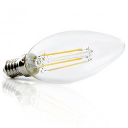 Bombilla Filamento LED E14 4W 380Lm 30.000H - Imagen 2