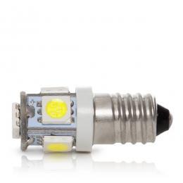 Bombilla Led E10 12VDC 1W 5 X SMD5050 - Imagen 2