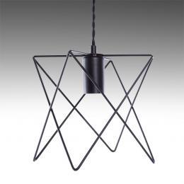 Lámpara Colgante Hierro E27 Negro (Sin Lámpara) Reese - Imagen 2