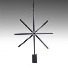 Lámpara Colgante Hierro E27 Negro (Sin Lámpara) Elise - Imagen 2