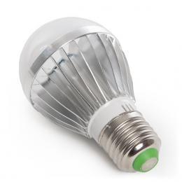 Bombilla Led RGB 3W E27 Esférica Mando a Distancia - Imagen 2