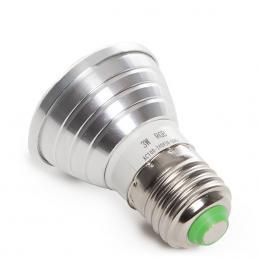 Bombilla Led RGB 3W E27 Mando a Distancia - Imagen 2