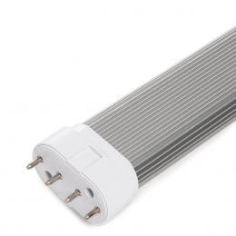 Tubo LED 2G11 227Mm 2835SMD 9W 850Lm 30.000H - Imagen 2
