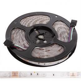 Kit Tira 150 LEDs 36W RGB Blister Transformador, Controlador, Mando a Distancia IP65 - Imagen 2