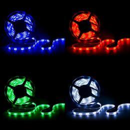 Tira LED 360 X SMD 5050 5M RGB-Blanco Frío IP65 - Imagen 2