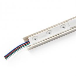 Perfil LED Escaparates/Vitrinas SMD5050 4,32W 12VDC 1M RGB - Imagen 2