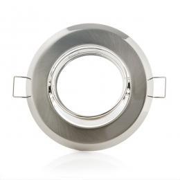 Aro Foco Downlight Circular Basculante Acero 92M - Imagen 2