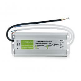 Transformador LED 80W 230VAC/12VDC IP67 - Imagen 2