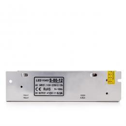 Transformador LED 230VAC/12VDC 80W 6,5A IP25 - Imagen 2