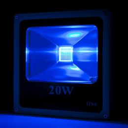 Foco Proyector LED IP65 Ecoline 20W RGB Mando a Distancia - Imagen 2