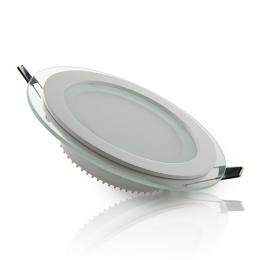 Foco Downlight  LED Circular con Cristal Ø160Mm 12W 900Lm 30.000H - Imagen 2