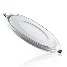Foco Downlight LED Circular con Cristal Duo (Blanco/Azul) Ø160Mm 15W 1200Lm 30.000H - Imagen 2