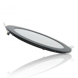 Placa Led Circular Marco Negro 225Mm 18W 1380Lm 30.000H - Imagen 2