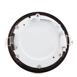 Placa Led Circular Ø120Mm 6W 480Lm 50.000H Bronce - Imagen 2