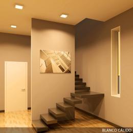 Plafón LED Cuadrado Superficie 225Mm 18W 932Lm 30.000H - Imagen 2