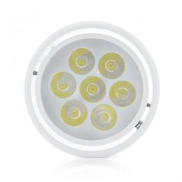 Foco Downlight LED de Superficie Blanco 7W 700Lm 30.000H - Imagen 2
