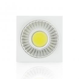 Foco Downlight  LED de Superficie COB Cuadrado Blanco 57X57Mm 3W 270Lm 30.000H - Imagen 2