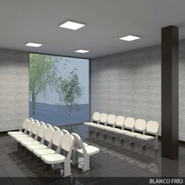 Plafón LED Cuadrado Superficie 600X600Mm 36W 2700Lm 30.000H - Imagen 2