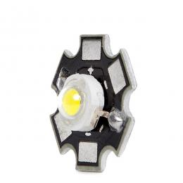 LED High Power 35X35 con Disipador 1W 120Lm 50.000H - Imagen 2