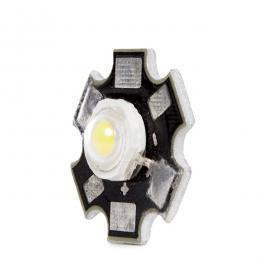 LED High Power 45X45 con Disipador 3W 220Lm 50.000H - Imagen 2