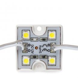 Módulo 4 LEDs SMD3528 0,6W - Imagen 2
