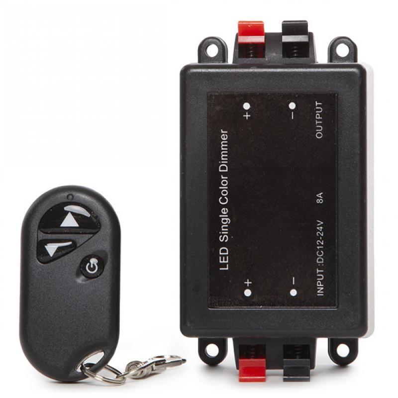 Dimmer Tira LED Mando a Distancia 12-24VDC ► 96/192W - Imagen 4