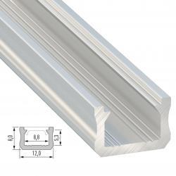 Perfíl Aluminio Tipo X 2,02M - Imagen 1